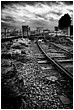 "A thumbnail of one of the Urban Ugliness series called ""Fuel Terminal Railway"""
